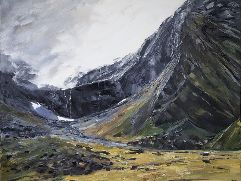 779 Towards Mount Talbot NZ 100x120cm
